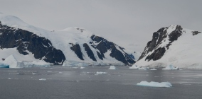 In the Gerlache Strait, Graham Land, Antarctic Peninsula