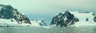 Entering the Gerlache Strait