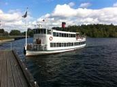 Boat to Drottningholm