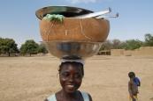 Girl in Mali