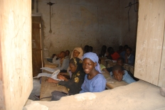Girls in classroom, Timbuktu, Mali