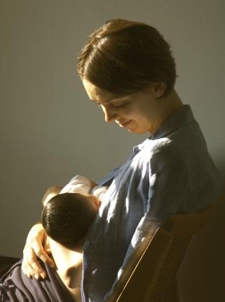 Francesca, new mother