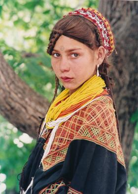 Girl from Kalash tribe, Pakistan