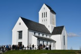 Skalholt church founded in 1056, was the first diocese for bishops in Iceland.
