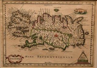 Mercator map of around 1619