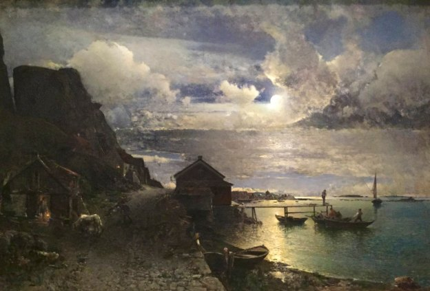 alfred-wahlberg-1834-1907-moonlight-fjalbacka-gothenburg-art-museum