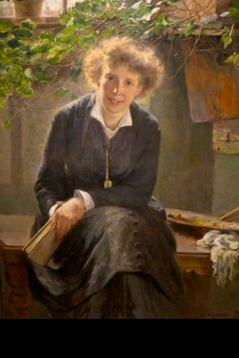 bertha-wegmann-the-artist-jeanna-bauck-1881-national-museum-stockholm
