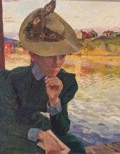 Carl Wilhelmsson, 1866-1928, Scene from the Swedish West Coast, 1898, oil on canvas, Göteborg Art Museum