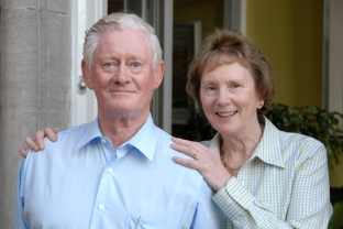 Malachy McCloskey and wife Ann, Drogheda, dear freends from Ireland