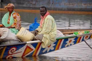 On the Niger River in Mopti, Mali