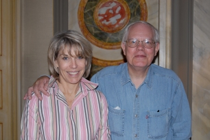 Jane and Bob Van Reusel, Diplomatic colleagues in their Avignon home