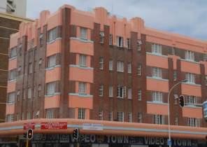 Durban: art deco building