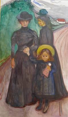Edvard Munch, A Family, Thielska Galleriet, Stockholm