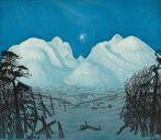 Harald Sohlberg, 1869-1935, Vinternatt i Rondane, 1914