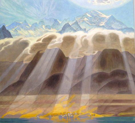 Sol över Söderns Berg, 1902