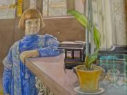 Carl Larsson, 1853-1919, Portrait of his daughter, Thielska Galleriet, Stockholm