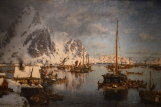 Gunnar Berg 1863-1893, Svolvaer