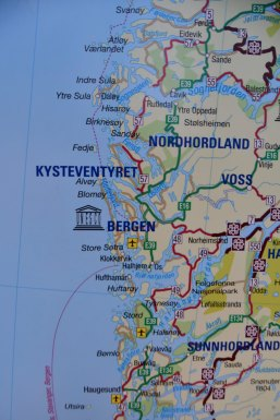 Departure from Bergen
