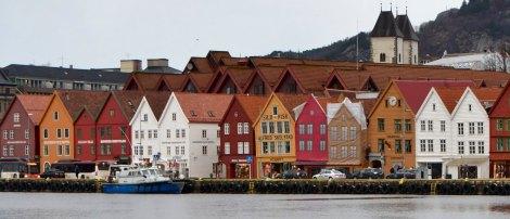 Hansa houses, Bergen