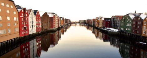 Trondheim, Hansa houses